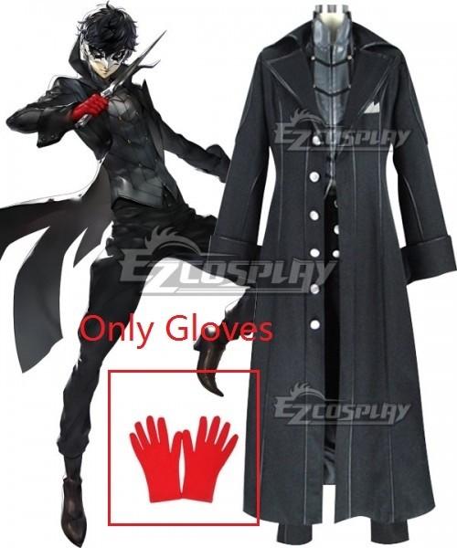 Epr024 1 Persona 5 Joker Protagonist Akira Kurusu Ren Amamiya Cosplay Costume Only Gloves Commission Outfit