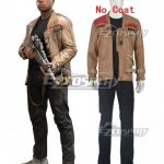 ESWY0056-1 Star Wars Finn FN-2187 Cosplay Costume Cosplay Costume-No Coat - Commission Outfit
